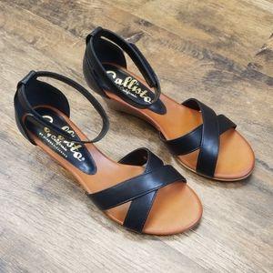Callisto Kallie Wedge Sandals